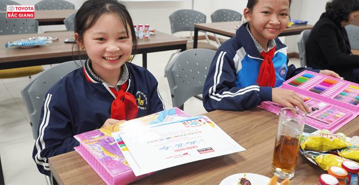 Toyota Bắc Giang tổ chức lễ trao giải cuộc thi vẽ tranh quốc tế