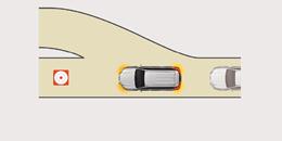 Tín hiệu nháy đèn khi phanh khẩn cấp EBS